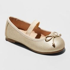 NWT Cat And Jack Becca White Ballet Ladies Girls Flats New With Tags Size 4