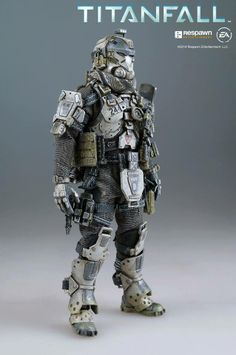 "Take a look at all the details, paint application and weathering on fully articulated Titanfalll: Atlas 6"" (15.2 cm) tall pilot. This pilot will be coming together with 20.5"" (52 cm) tall Titanfall: Atlas, which we showed earlier this year, we plan to open the pre-order soon, please keep an eye on our Facebook page: www.facebook.com/threezeroHK for updates!  #threezero #Titanfall #gaming #videogame #collectible #toyphotography #actionfigure #toyplanet #comingsoon #WIP #Titan"