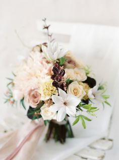 We all know about peonies and roses, but do you really know how to choose a bouquet that will show off your individual tastes and personality?