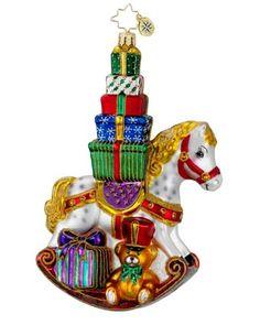 Image detail for -Christopher Radko Christopher Radko Wrappin' Rocker Ornament