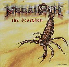 The Scorpion - Megadeth single cover