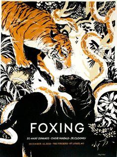 Foxing - Teagan White - 2015 ----