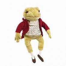 Beatrix Potter's favourite dressed amphibian - Jeremy Fisher, by Rainbow Designs.
