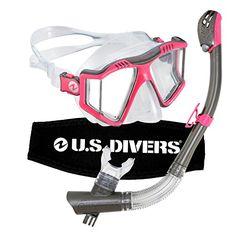 U.S. Divers Lux Purge Grenada LX Snorkel Mask - http://scuba.megainfohouse.com/u-s-divers-lux-purge-grenada-lx-snorkel-mask/