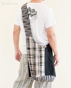 Unique Handwoven Purist Hippie Handmade Patchwork Shoulder Bag (MB-39)
