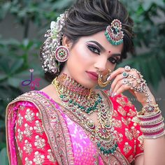 """Some Glimpse of Latest """"Look & Learn Beauty Seminar"""" Held By Jasmine Beauty Care At Ahmedabad ! Make up : Hairstyle :… Bridal Hairstyle Indian Wedding, Bridal Hair Buns, Indian Wedding Bride, Indian Wedding Hairstyles, Indian Bridal Makeup, Bride Hairstyles, Lehenga Hairstyles, Desi Wedding, Indian Weddings"""