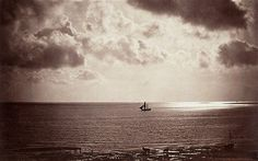 Gustave Le Gray (1820-1884), 'The Brig', 1856