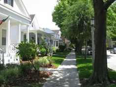 Celebration Florida Residential- looks like my street! Celebration Florida, Florida Events, South Of Spain, Pipe Dream, Sunshine State, Florida Travel, Malaga, My Happy Place, Orlando