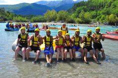 """While adventurers and adrenaline lovers go to different tours in order to add color to their holidays, """"rafting"""" in the cold waters flowing from the highlands of the city even in the scorching heat of the city is one of the most popular tours of the local and foreign tourists. Rafting Tour, Turu, Water Flow, Extreme Sports, Antalya, The Locals, Metre, River, Adventure"""