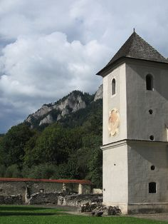 Red Monastery in Cerveny Klastor, SLOVAKIA. (by Sarah Nicholas, via Flickr)