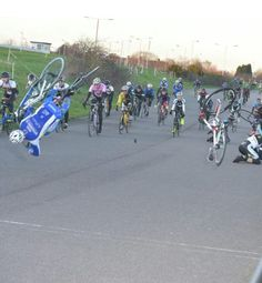 Flying to the finish line #cycling #bike #ride #explore #exercise #race
