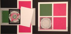 Swirly Pop of Pink by ScrappyT - Cards and Paper Crafts at Splitcoaststampers