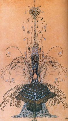 Queen of the Night Costume - Leon Bakst
