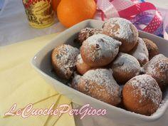 Frittelle di Carnevale all'arancia e cioccolato!