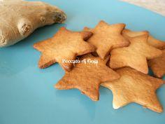 Biscotti+allo+zenzero,+ricetta+dolce