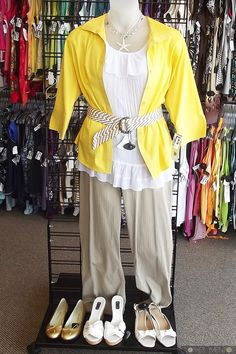 Spring fashions look good at our Clothes Mentor women's clothing resale store in McKinney, TX http://www.facebook.com/ClothesMentorMcKinney