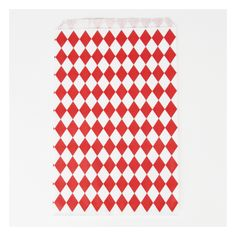 10 pochettes losanges rouges