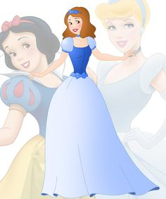 A new series in which I mix 2 disney princesses into 1 This is a mix of Belle and Cinderella, her name is Elle Hope you like her Other combinations: Anna + Ariel : willemijn1991.dev...