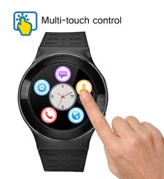 ZGPAX S99 Android 5.1 Smart Watch - 1.33 Inch, Bluetooth 4.0, Quad Core CPU, 3G, Pedometer, Heart Rate Monitor