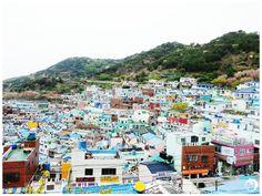Lego houses, Korea's Santorini