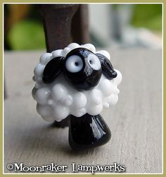 ***MADE TO ORDER***    Fluffy white & plump with a very sheepy clueless look on his face. :)  Hand-shaped so each one is unique. ***Please allow