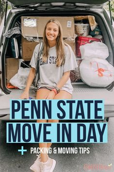 Penn state move in day! Find out what happens at PSU move in day tips.