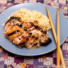 Grilled Chicken Teriyaki - Gluten and Soy Free!