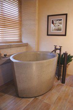 Deep Bathtub Soaker Tub Master Bath