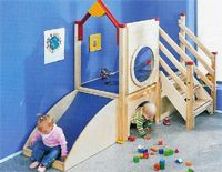 Wooden Play Environments and Lofts including New Enclosed Wooden Lofts, New Climbers with Rock Walls Baby Play Areas, Indoor Play Areas, Kids Play Area, Kids Room, Playroom Design, Kid Playroom, Café Design, Kids Indoor Playground, Kids Furniture