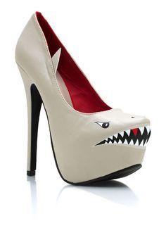 KILLER Shark Pumps with a capital K