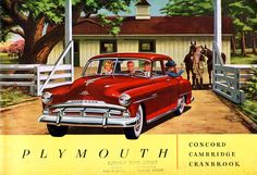 1951 Plymouth brochure