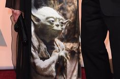 Hair, Makeup, Yoda: An Oscars-Night Tribute From The Wife Of Disney's CEO - http://car-trucks-auto.advices4all.eu/hair-makeup-yoda-an-oscars-night-tribute-from-the-wife-of-disneys-ceo/