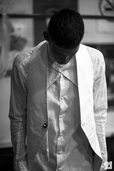 Le 21ème | Bastian Thiery | Backstage at Boris Bidjan Saberi, Spring/Summer 2013 | Paris