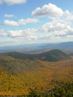 White Mtn of NH in the fall