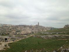 Matera, la città dei sassi. -Basilicata, Italy