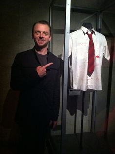 Simon Pegg at the EMP Museum in Seattle, what have to go there one of these days Bill Bailey, Little Britain, Simon Pegg, He Makes Me Smile, Foreign Movies, Sean Penn, Scott Pilgrim, Karl Urban, Great Tv Shows