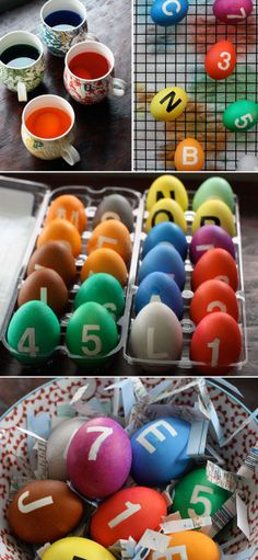 NY Subway Easter Eggs colors