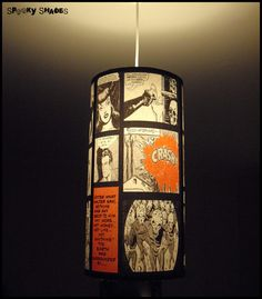 Need comic lampshade! (loads more cool ones as well)