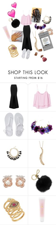"""""""shaboop"""" by karilover ❤ liked on Polyvore featuring MANGO, Aéropostale, Zara Taylor, Topshop, Natasha, Anabela Chan, MICHAEL Michael Kors, T+C by Theodora & Callum and Lancôme"""