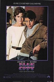 Blue City starring Judd Nelson, Ally Sheedy, and David Caruso (part of the Brat Pack collection) about avenging the death of a father.