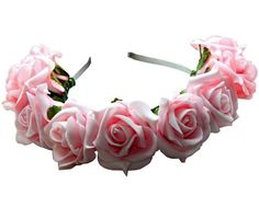 SOFIA Floral Crown - Pale Pink, £15.00