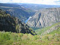 Galicia -Río Sil divide las provincias de Lugo y Orense.