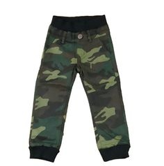Awesome boys camo pants! Fun and comfortable with an elastic waist band. Made in Los Angeles.