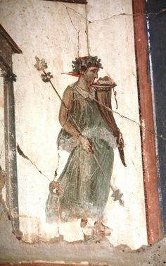 Detail of a fresco in the House of the Tuscan Colonnade (VI,17), Herculaneum.