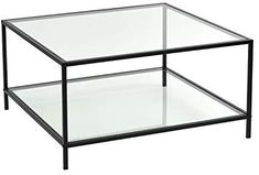 Shop the latest collection of FurnitureR Modern Lux Glass Coffee Table Tempered Glass Top Metal Frame Occasional Living Room Table Storage Shelf from the most popular stores - all in one place. Modern Glass Coffee Table, Coffee And End Tables, Table Decor Living Room, Living Room Furniture, Table Storage, Storage Shelves, Kids Toilet Seat, Shelf Furniture, Chair Side Table