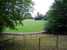 Cathkin Park, Scotland (Used to be 50,000 capacity - now in ruins)