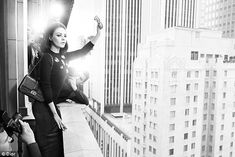 Mila KUnis - Dior The campaign will launch in the August issue of Elle Hong Kong on July 21, appearing in worldwide titles in September