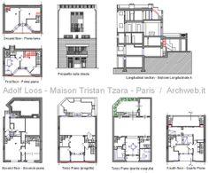 Adolf Loos - Maison Tristan Tzara