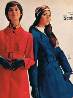 Sears catalog 70s.  Dayle Haddon and Colleen Corby.