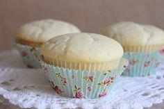 Egg free white cupcakes.